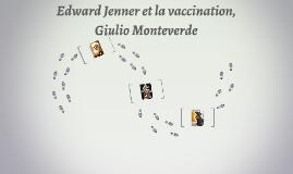 Edward Jenner et la vaccition
