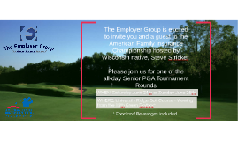 The Employer Group is excited to invite you and a guest to t