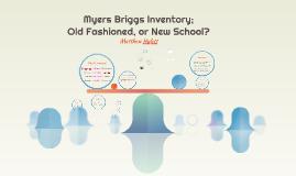 Myers Briggs Inventory