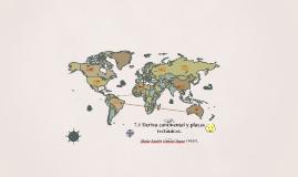 7.1 Deriva continental y placas tectonicas.