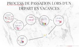 PROCESS DE PASSATION LORS D'UN DEPART EN VACANCES