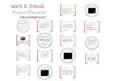CENET Work and Travel Orientation