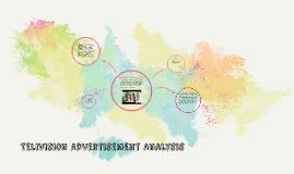 Telivision Advertisement Analysis