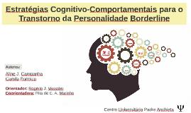 Estratégias Cognitivas-Comportamentais