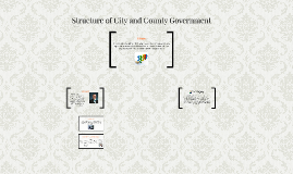 Structure of City and County Government