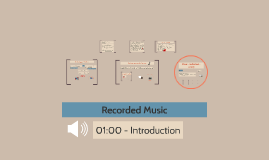 Recorded Music