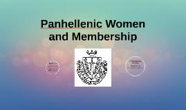 Panhellenic Women
