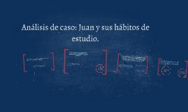 Análisis de caso: Juan y sus hábitos de estudio.