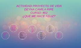 Copy of ¿QUE ME HACE FELIZ?