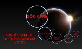 Copy of KON DÜZENEKLERİ VE GÖRÜNÜR HAREKET