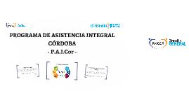 PROGRAMA DE ASISTENCIA INTEGRAL CÓRDOBA