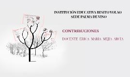 INSTITUCION EDUCATIVA BESITO VOLAO