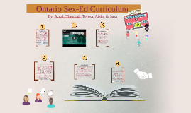 Ontario Sex-ed Curriculum