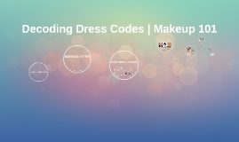 Decoding Dress Codes | Makeup 101