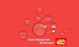 Caso desayunos Mcdonalds