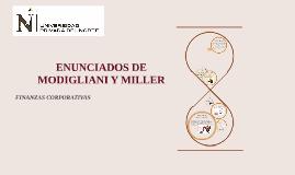 MILLER & MODIGLIANI