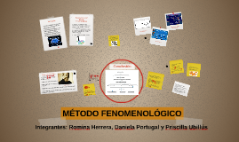 Copy of MÉTODO FENOMENOLÓGICO