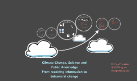 Argentina: Climate Change, Science and Public Knowledge: From receiving information to behavioral change