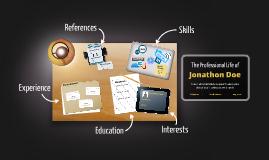 Desktop Prezumé by John Blake