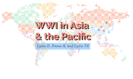WWI in Asia and the Pacific