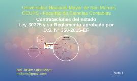 Copy of Ley 30225 - Nueva Ley de Contrataciones del estado