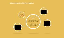 DEPARTAMENTO DE ALIMENTOS Y BEBIDA