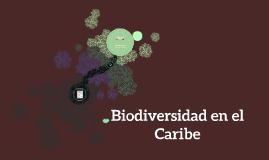 Biodiversidad en el Caribe