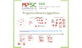MPSC ::: Programa Alimento Sem Risco