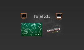 Maths Facts