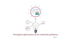 Principales aplicaciones de los materiales polímeros