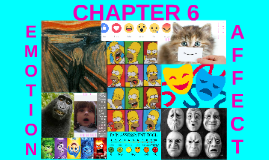 Chapter 6: Emotion & Affect