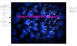 Music Industry Contracts - MU2S19