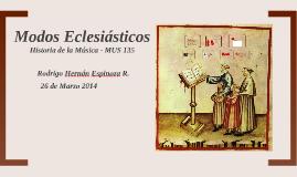 Modos Eclesiásticos
