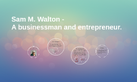 Sam M. Walton