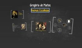 Copy of Gregório de Matos