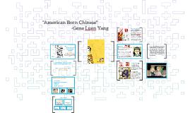 """American Born Chinese"""