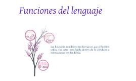 Copy of Funciones del Lenguaje
