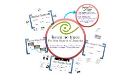 Copy of The Need for Leave No Trace
