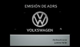 Emisión de ADRS Volkswagen