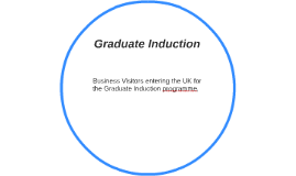 Graduate Induction