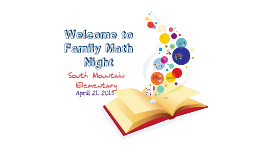 Copy of Jefferson Elementary Math Night - 2015