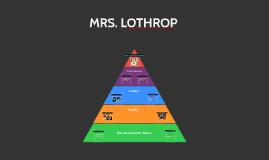 MRS. LOTHROP