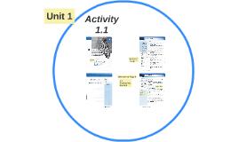 Activity 1.1