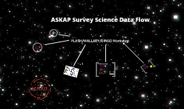 ASKAP Survey Science Data Flow