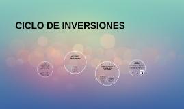 CICLO DE INVERSIONES
