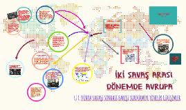 Copy of İKİ SAVAŞ ARASI DÖNEMDE AVRUPA