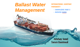 Copy of Copy of Project Ballast Water