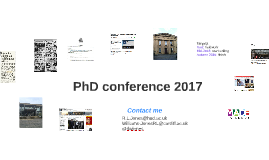 PhD conference 2017