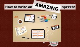Copy of How to write a good speech