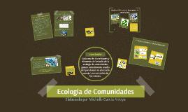 Ecología de Comunidades